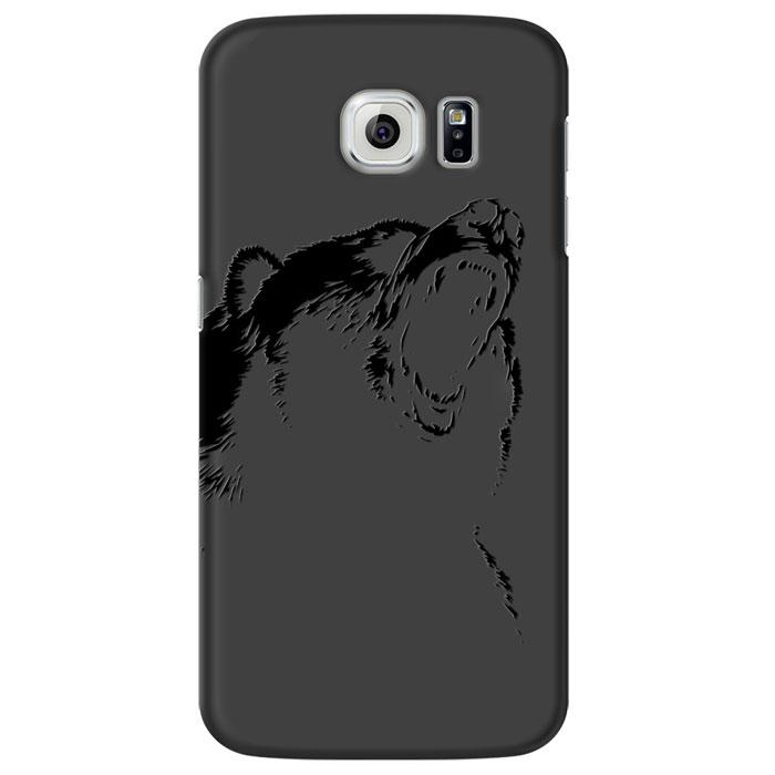 Deppa Art Case чехол для Samsung Galaxy S6, Black (медведь)100272Чехол Deppa Art Case для Samsung Galaxy S6 предназначен для защиты корпуса смартфона от механических повреждений и царапин в процессе эксплуатации. Имеется свободный доступ ко всем разъемам и кнопкам устройства. Чехол изготовлен из поликарбоната толщиной 0,7 мм и оформлен принтом с изображением медведя.