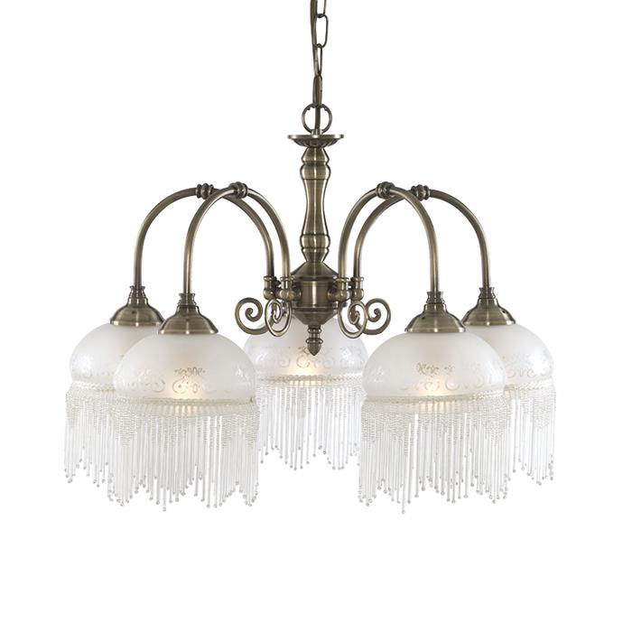 Светильник подвесной Arte Lamp Victoriana A3191LM-5ABA3191LM-5AB