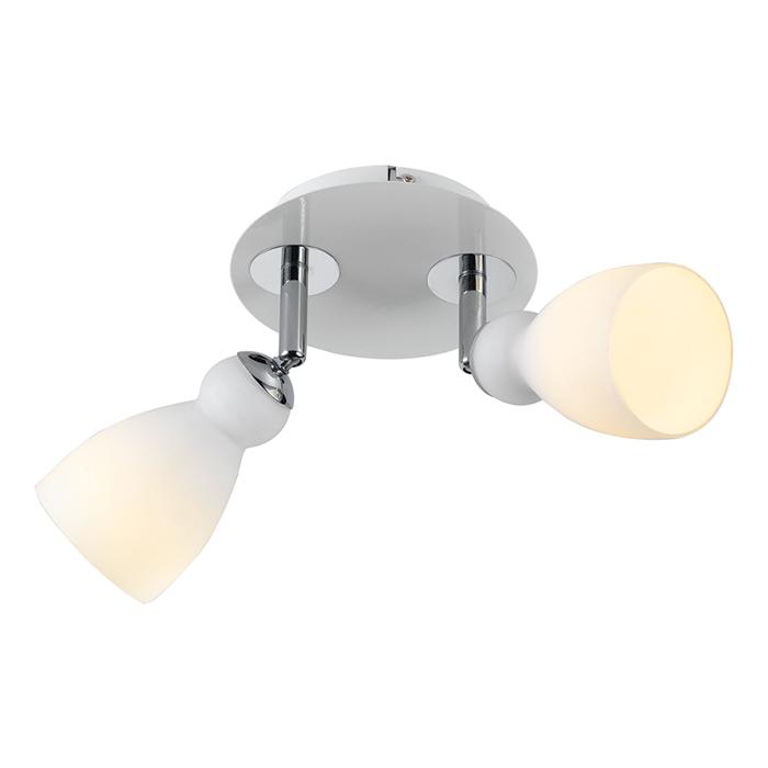 Светильник настенный Arte Lamp BULBO A4037AP-2WHA4037AP-2WH
