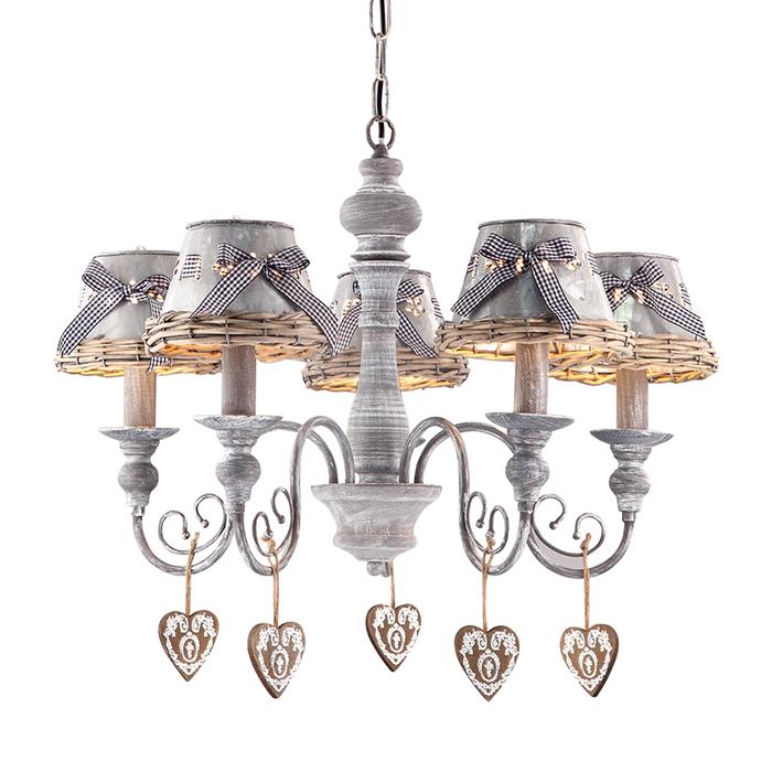 Светильник подвесной Arte Lamp FATTORIA A5290LM-5RIA5290LM-5RI