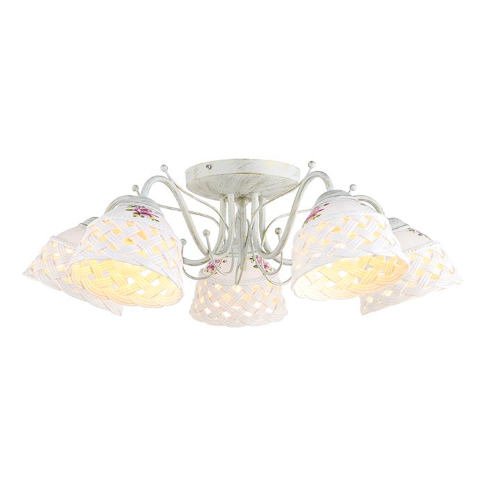 Светильник потолочный Arte Lamp WICKER A6616PL-5WGA6616PL-5WG