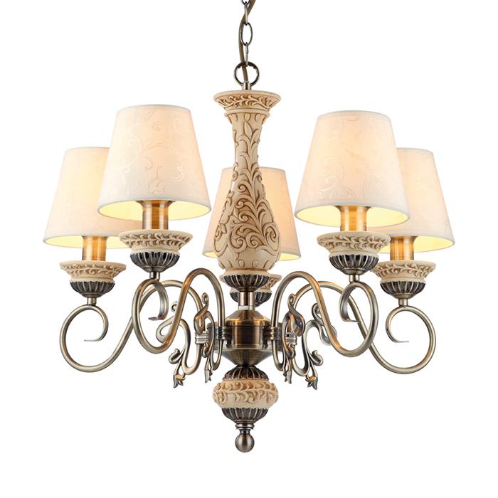 Светильник подвесной Arte Lamp Ivory A9070LM-5ABA9070LM-5AB