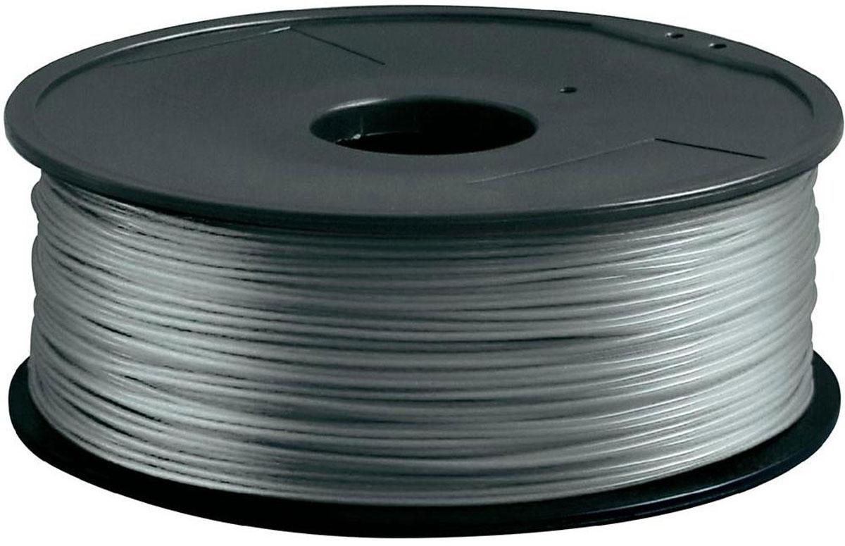 ESUN PLA-пластик в катушке, Silver (PLA175S1)PLA175S1Пластик PLA в катушке от ESUN долговечный и очень прочный полимер, ударопрочный, эластичный и стойкий к моющим средствам и щелочам. Один из лучших материалов для печати на 3D принтере. Пластик не токсичен и экологически чист. Температура плавления 190 - 220°C - ниже, чем у других материалов. PLA пластик для 3D - принтера применяется в деталях автомобилей, канцелярских изделиях, корпусах бытовой техники, мебели, сантехники, а также в производстве игрушек, сувениров, спортивного инвентаря, деталей оружия, медицинского оборудования и прочего. Диаметр нити: 1,75 мм.
