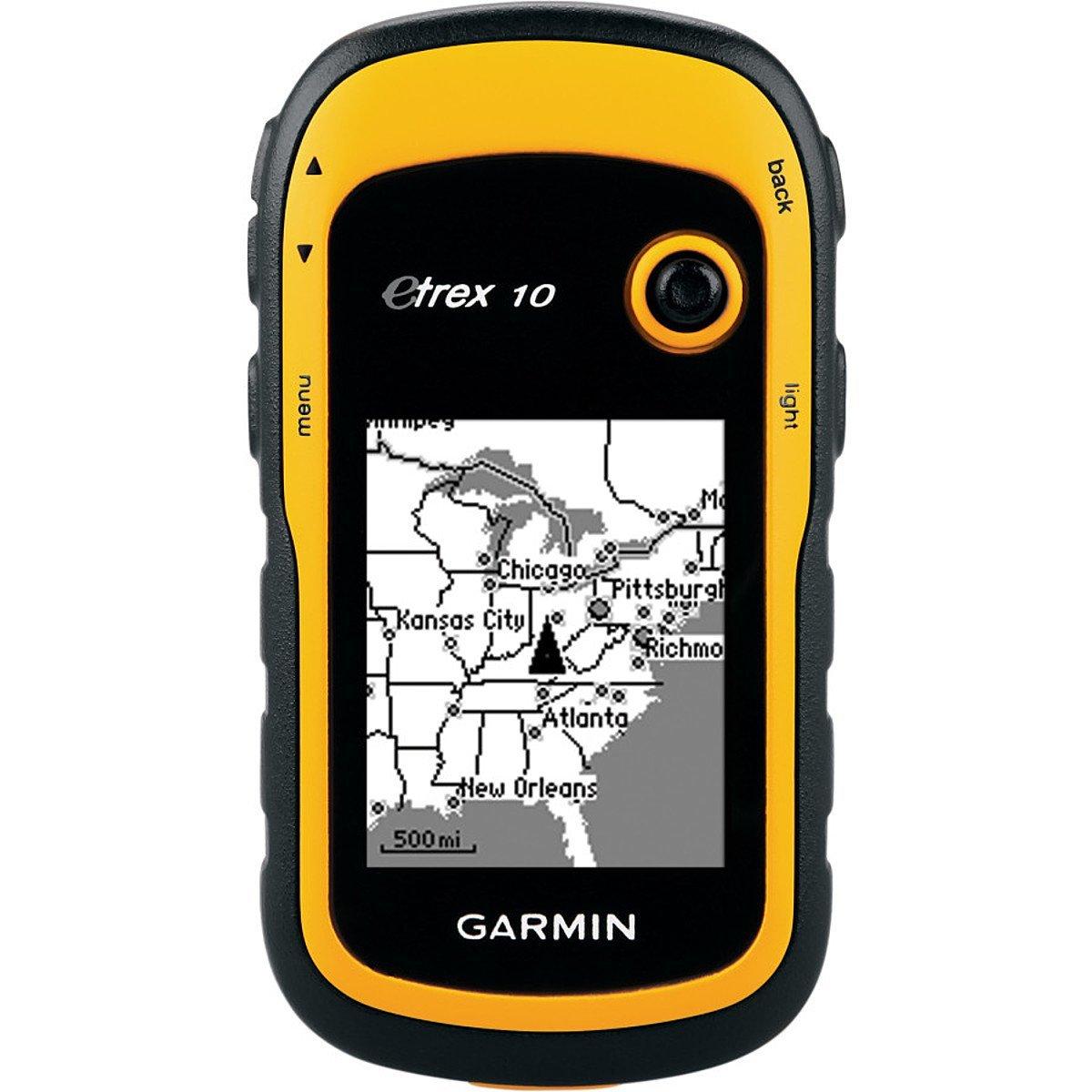 """Навигационный приемник Garmin eTrex 10 (010-00970-01)010-00970-01Навигационный приемник Garmin eTrex 10 сохраняет основные функции, прочную конструкцию, доступность и долгий срок работы батарей – те характеристики, которые делали прибор eTrex самым надежным GPS- навигатором. Данная модель оборудована улучшенным монохромным дисплеем 2.2"""", которым удобно пользоваться при любых условиях освещенности. Прочный и водонепроницаемый eTrex 10 не боится плохой погоды. Простой интерфейс пользователя означает, что вы сможете уделять большее время своей деятельности и меньшее время поиску информации. Легендарная прочность eTrex 10 делает его неуязвимым для пыли, грязи, влажности и воды. Garmin eTrex 10 поддерживает файлы геокэшинга GPX для загрузки координат и описаний тайников прямо в устройство. Отказываясь от бумажных записей, вы не только помогаете сохранить природу, но и повышаете эффективность геокэшинга. Устройство eTrex 10 хранит и отображает основную информацию, включая координаты, рельеф, уровень сложности,..."""