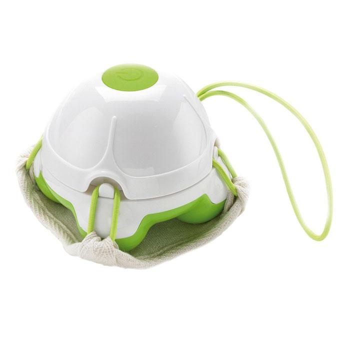 Массажер-мочалка ручной Medisana HM 840, цвет: салатовый, белый728_белый, салатовыйМассаж очень приятная и полезная процедура. Теперь вы можете осуществлять его самостоятельно прямо во время приема душа. Воспользуйтесь компактным и удобным массажером-мочалкой Medisana HM 840. Насладитесь приятным массажем и, если хотите, совместите его с процедурой пилинга! Массажер мочалка Medisana HM 840 осуществляет вибрационный массаж. Благодаря водонепроницаемой конструкции, его можно использовать в душе. Массажер имеет компактные размеры, берите его с собой в путешествия и делайте массаж в любом удобном месте. Medisana HM 840 оснащен легкосъемным двухсторонним массажным ковриком из флиса. Одна из сторон этого коврика состоит из люфы, что при использовании дает отличный пилинг эффект. Массажер позволит сделать пилинг тела и лица в домашних условиях, повысит упругость кожи, позволит предотвратить варикозное расширение вен и избавиться от апельсиновой корки. Удобное использование (без сторонней помощи) на любых участках тела ...