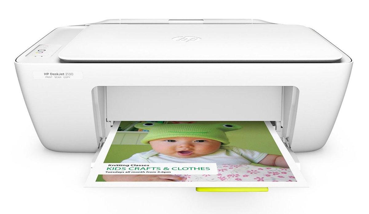 HP DeskJet 2130 All-in-One (K7N77C) МФУK7N77CМФУ HP DeskJet 2130 All-in-One - это идеальное решение для ежедневной печати, сканирования и копирования. Оно поставляется готовым к работе и не требует сложной настройки. Дополнительные картриджи повышенной емкости сокращают расходы на печать. Благодаря компактным размерам устройства вы также сможете сэкономить пространство на рабочем месте. Все необходимое в одном устройстве Откройте для себя возможности этого универсального решения. Это надежное МФУ оснащено простыми и удобными функциями печати, сканирования и копирования документов. HP DeskJet 2130 All-in-One очень просто настроить. В нем предусмотрены удобные средства управления для простой настройки печати, сканирования и копирования документов. Компактное многофункциональное устройство легко поместится на столе, полке или в другом удобном для вас месте. Выполняйте более высокие объемы печати при меньших затратах благодаря лучшему в мире принтеру и оригинальным картриджам HP....