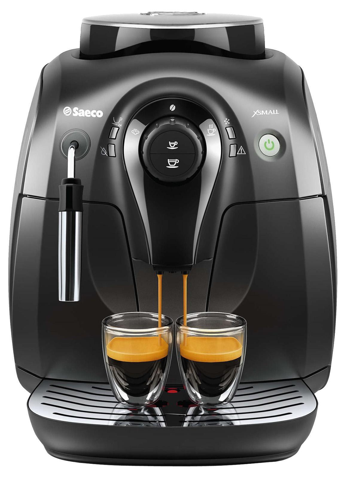 Philips HD8649/01 кофемашинаHD8649/01Эспрессо из свежемолотых кофейных зерен простым нажатием кнопки. Приготовьте одну или сразу две порции превосходного эспрессо, сваренного из свежемолотых кофейных зерен, просто нажав на кнопку и подождав несколько секунд. Потрясающий вкус благодаря 100%-но керамическим жерновам. Керамика гарантирует долгий срок службы и бесшумную работу. Регулируемые настройки помола для идеального вкуса кофе. Выберите одну из пяти степеней помола на ваш вкус - от самого тонкого для приготовления насыщенного крепкого эспрессо до самого грубого для более легкого вкуса. Сохраните персональные настройки объема напитка с помощью функции запоминания. Благодаря функции запоминания вы можете запрограммировать и сохранить нужный объем, чтобы всегда готовить любимый кофе так, как вам нравится. Классический капучинатор, который бариста называют панарелло, используется для приготовления с помощью пара мягкой молочной пены для вашего капучино. Почувствуйте себя бариста - готовьте вкусные молочные напитки...