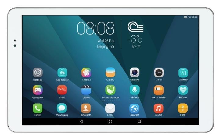 Huawei MediaPad T1 10 LTE (T1-A21L), Silver