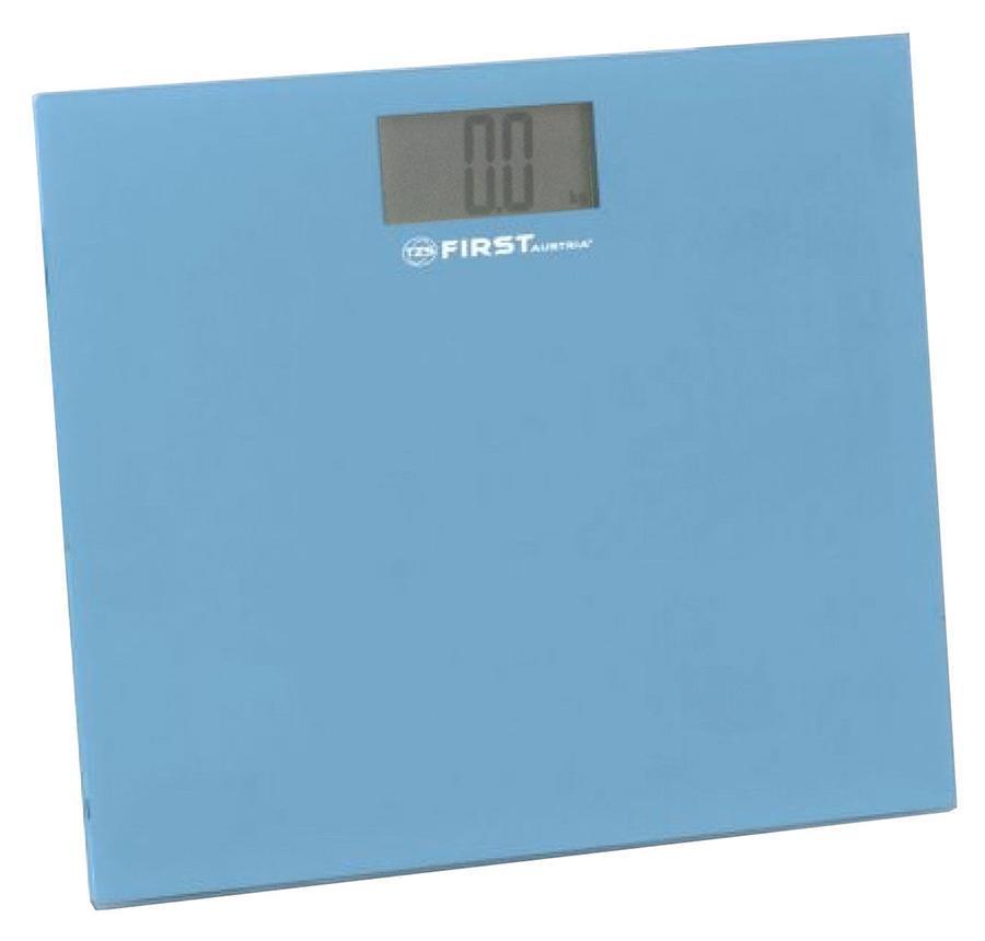 First FA-8015-2, Blue весы напольныеFA-8015-2 Blue8015-2 Весы напольные FIRST, электронные, ЖК-диспл., стекл. 6 мм, 150 кг, 100 гр,Blue