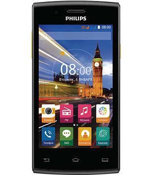 Philips S307, Black Yellow