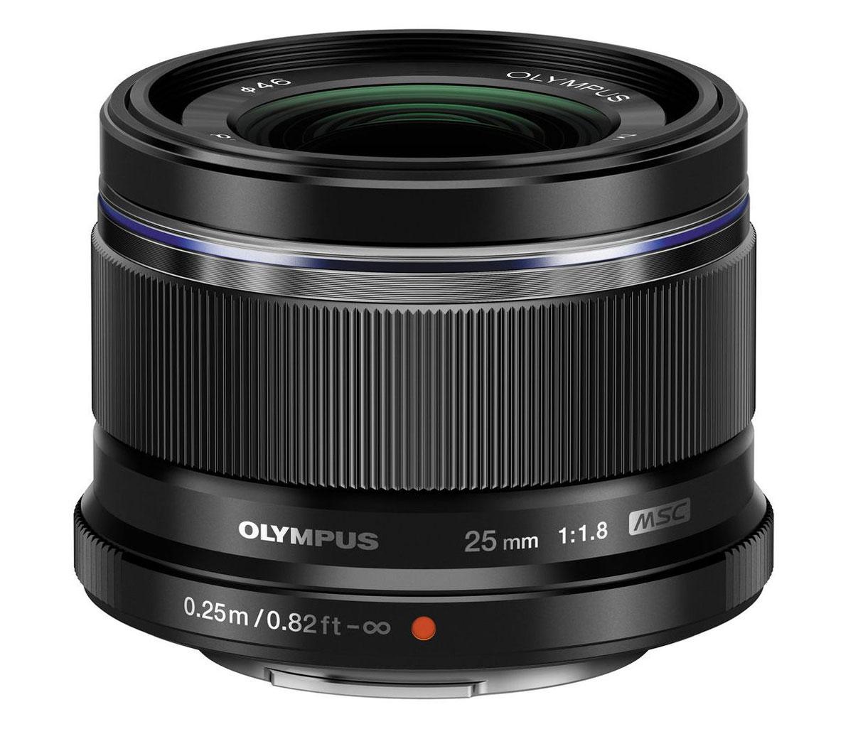 Olympus M.Zuiko Digital 25mm f/1.8, Black объектив