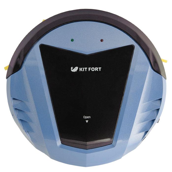 Kitfort KT-511-2, Black Blue робот-пылесос