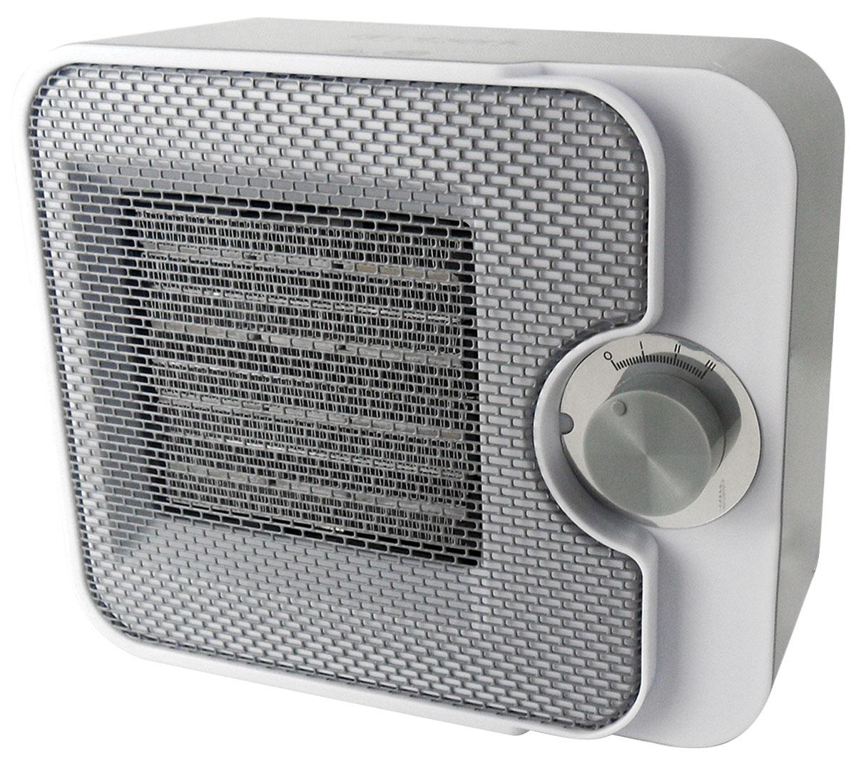 Timberk TFH T15NTX, Grey тепловентиляторTFH T15NTXТепловентилятор Timberk TFH T15NTX в настольном вертикальном исполнении оснащен сверх-тихим DC-мотором и абсолютно компактен. Высокоэффективный металлокерамический нагревательный элемент обеспечит быстрый нагрев воздуха в помещении, а технология Oxygen Safe снижает негативное влияние на качество воздуха. Два режима мощности на выбор (1000 Вт, 1500 Вт) Двухуровневая защита от перегрева: терморегулятор и термоограничитель Высокоэффективный металлокерамический нагревательный элемент Новейшее цветовое решение Пониженный уровень шума