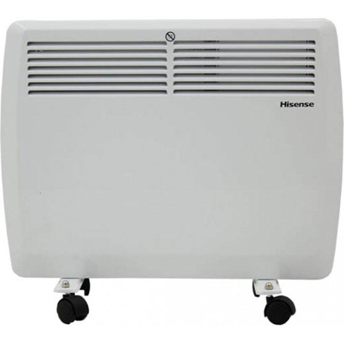 Hisense ND15-44J(E) конвекторND15-44J(E)Конвекторы Hisense серии Heat Air сочетают в себе высочайшее качество, функциональность, продуманный подход к процессу обогрева и утонченный дизайн.Конвекторы Hisense Heat Airпроизведены с соблюдением самых жестких мировых требований к безопасности. Все электрические элементы отделены от воздушного канала специальными отсекателями. Использованный сверхдолговечный никелево-стальной нагревательный элемент, установленный на керамических изолирующих втулках, имеет высочайшую жесткость и надежность и фактически не имеет аналогов на российском рынке.Благодаря встроенному сенсору опрокидывания, защиты от перегрева и высокому классу влагозащиты IP22 конвектор можно безопасно использовать даже в детской комнате. Также серия обладает целым рядом необходимых режимов и опций, такими, как 2 режима выбора уровня мощности, дополнительная изоляция клавиш переключения и плавная регулировка температуры.Установить конвектор на пол или на стену проще простого благодаря входящему в комплект мобильному шасси и набору для настенного монтажа. Помимо этого Heat Air обладает повышенной надежностью корпуса - толщина стали прибора равна 0.8 мм, что в среднем на 25% больше чем у аналогов.Конвекторы Hisense серии Heat Air подарят уют вашему дому на долгие годы.