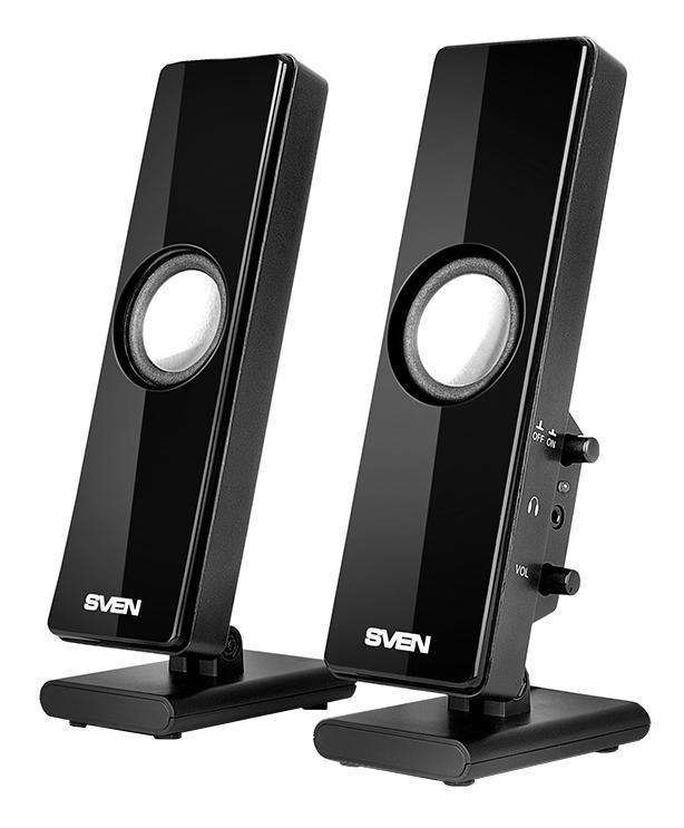 Sven 280, Black акустическая система 2.0 SV-0110280BK