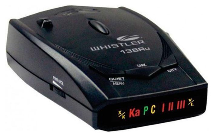 Whistler WH-138ST Ru, Black радар-детектор