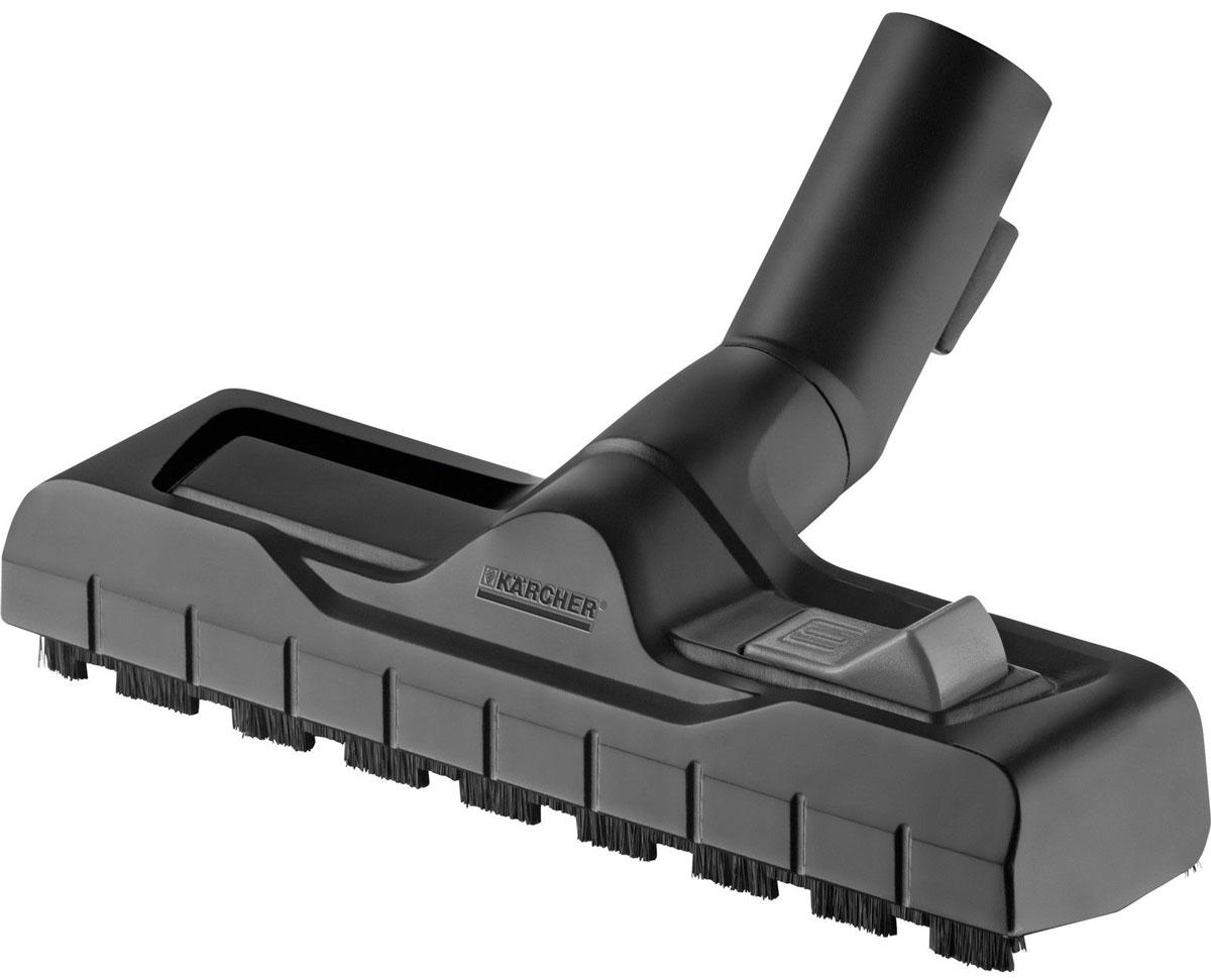 Karcher 28630000 насадка для пылесоса28630000Переключаемая насадка Karcher предназначена для влажной и сухой уборки с возможностью парковки. Она подходит для сбора сухого мусора и жидкостей, благодаря двум щеточным или резиновым полоскам. Удобное переключение режимов и превосходное скольжение. Также есть функция парковки во время перерывов в работе.