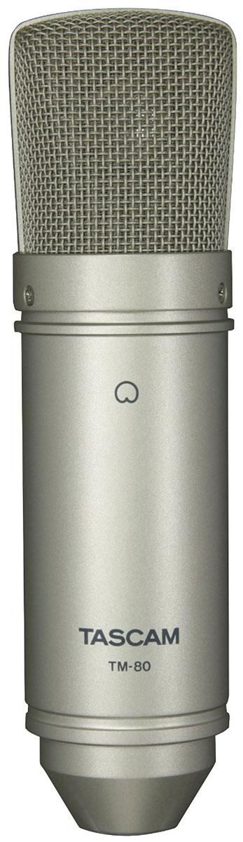 Tascam TM-80, Black микрофонTM-80Микрофон конденсаторного типа Tascam TM-80 создан для звукозаписи дома или в небольших студиях. Он обладает 18-миллиметровой алюминиевой диафрагмой, включающей кардиоидную диаграмму направленности. Устройство обеспечивает высокое качество звука при вокальной или инструментальной записи. Внутренняя схема микрофона TM-80 оптимизирована для уменьшения искажений и шумов, что сохраняет богатое полноценное качество звука.