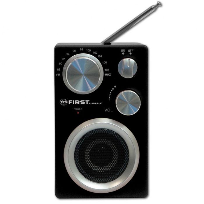 First 1900-2 радиоприемникFA-1900-2 BlackFirst 1900-2 - компактный и стильный радиоприемник с поддержкой диапазонов AM и FM. Приемник обладает удобной ручкой для переноски и телескопической антенной. Для подключения дополнительных аудио-устройств имеются линейный аудиовход.