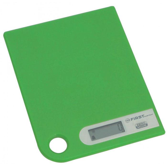 First 6401-1, Green весы кухонные