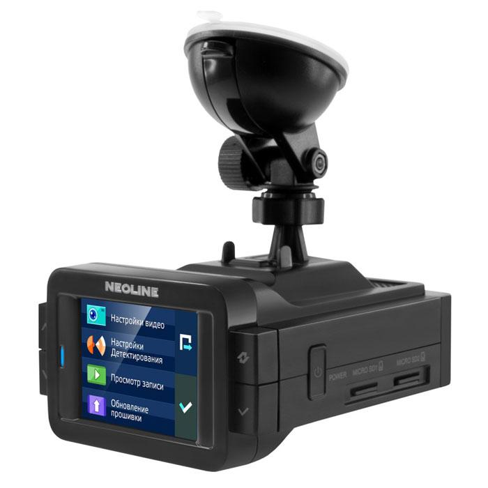 Neoline X-COP 9000 радар-детектор338045Радар-детектор Neoline X-COP 9000. Видео высокой четкости: Оптическая система из 6 стеклянных линз, самый мощный на сегодняшний день процессор Ambarella A7 и высокотехнологичный сенсор EXMOR IMX 322 от Sony обеспечивают реалистичное и четкое видео с максимальным уровнем детализации. Кроме того, благодаря использованию матрицы EXMOR от Sony, в гибриде реализован интеллектуальный режим подавления бликов и солнечных лучей. А благодаря низкому уровню шумов и системе светокоррекции, ночное видео получается весьма контрастным. IPS-ЭКРАН: Двухдюймовый дисплей Neoline X-COP 9000 оснащен IPS-матрицей с широким углом обзора, поэтому яркое и контрастное изображение на экране будет отлично просматриваться из любой точки автомобиля и в любую погоду. GPS-база полицейских радаров: Помимо радио-модуля и модуля, настроенного на детектирование радара СТРЕЛКА, в Neoline X-COP 9000 интегрирован GPS-модуль, отвечающий за обнаружение...