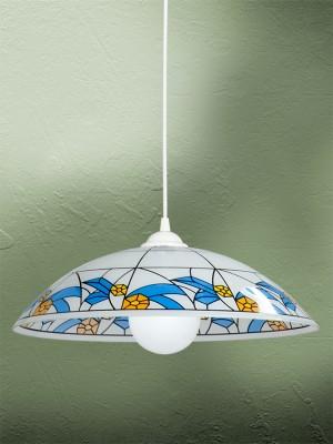 Люстра Vitaluce V6303/1S, 1хЕ27, 100 ВтV6303/1SЛюстра Vitaluce V6303/1S станет украшением вашей комнаты и изысканно дополнит интерьер. Плафон люстры выполнен из стекла с узором под мозаику. Изделие крепится к потолку. Такая люстра отлично подойдет для освещения кабинета, спальни, кухни или гостиной. Современный лаконичный дизайн позволит такой люстре вписаться в любой современный интерьер, как офисный, так и квартирный или интерьер загородного дома. Люстра предназначена для использования в питающей сети переменного тока с номинальным напряжением 220 В и частотой 50 Гц. Рекомендуется докупить лампу 100 Вт (в комплект не входит). Диаметр плафона: 35 см. Высота плафона: 10 см.