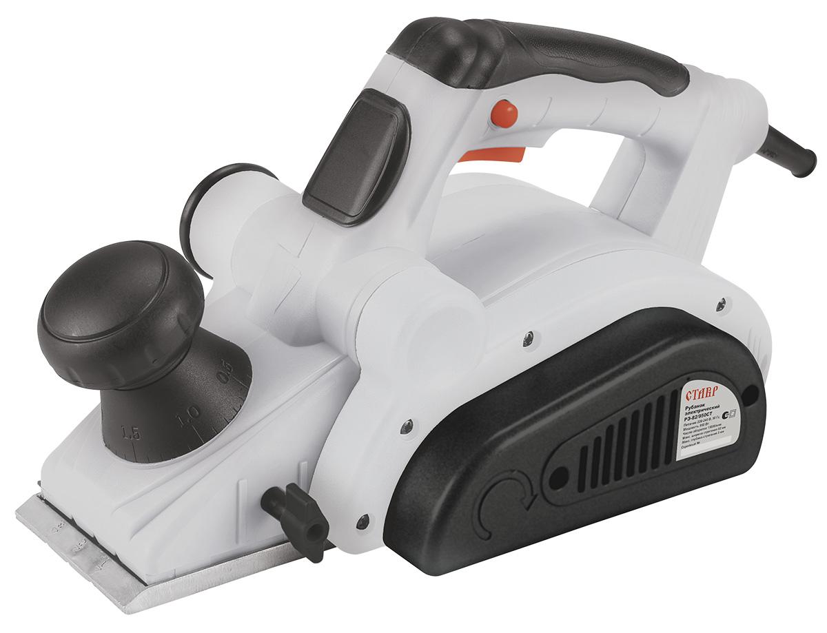 Рубанок электрический Ставр РЭ-82/950 СТст82-950стКомплектация: станина с креплением, параллельный упор с креплением, пылесборный мешок, угольные щетки (комплект), ключ для установки строгальных ножей, шестигранный ключ, упор-фиксатор выключателя, возвратный кожух для защиты строгальных ножей, упор для выборки четверти (фальца)