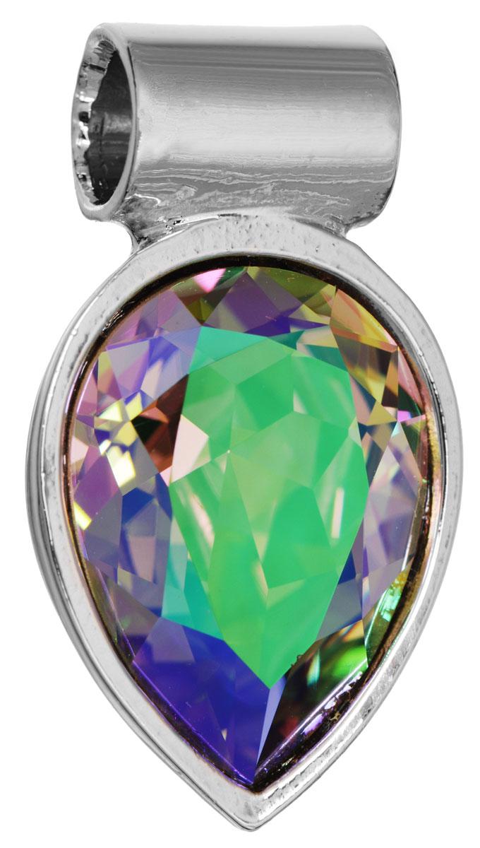 Подвеска Jenavi Нэсия, цвет: серебряный, мультицвет. k266f353k266f353Подвеска Jenavi Нэсия выполнена из гипоаллергенного ювелирного сплава с серебрением. Подвеска каплевидной формы дополнена граненым кристаллом Swarovski. Изделие имеет отверстие, которое позволит использовать цепочку любого диаметра. Подвеска Jenavi Нэсия поможет дополнить любой образ и привнести в него завершающий яркий штрих.