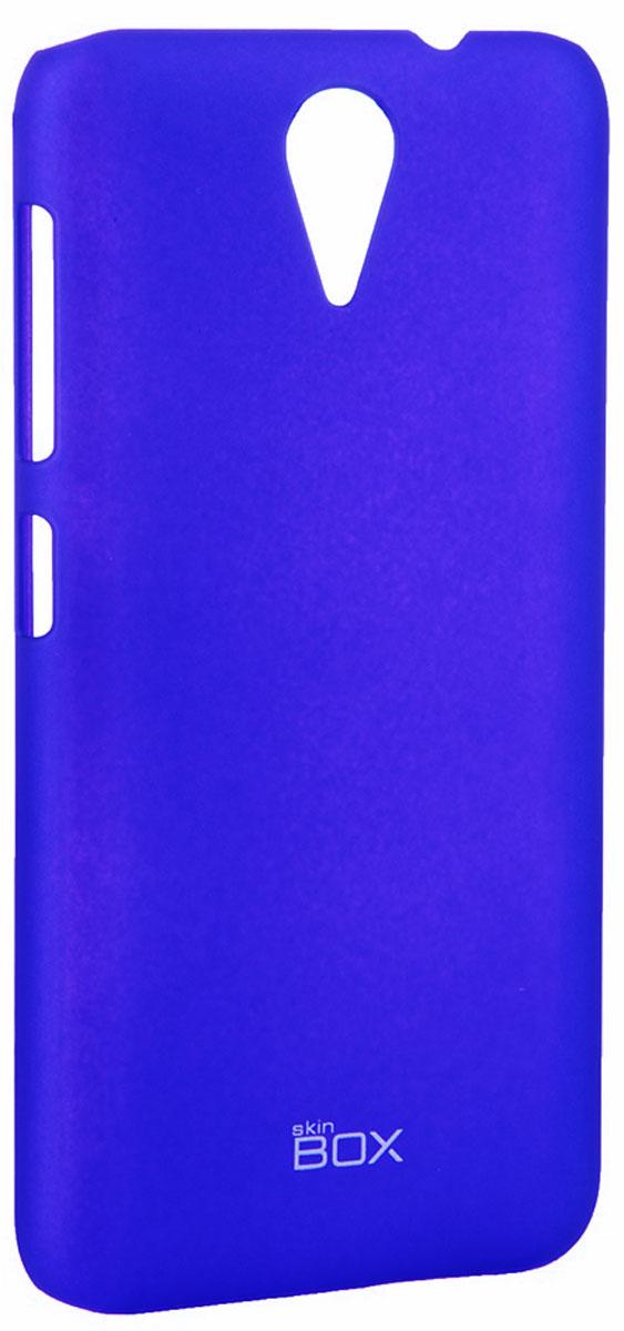 Skinbox 4People чехол для HTC Desire 620, BlueT-S-HD620-002Чехол - накладка Skinbox 4People для HTC Desire 620 бережно и надежно защитит ваш смартфон от пыли, грязи, царапин и других повреждений. Чехол оставляет свободным доступ ко всем разъемам и кнопкам устройства. В комплект также входит защитная пленка на экран.