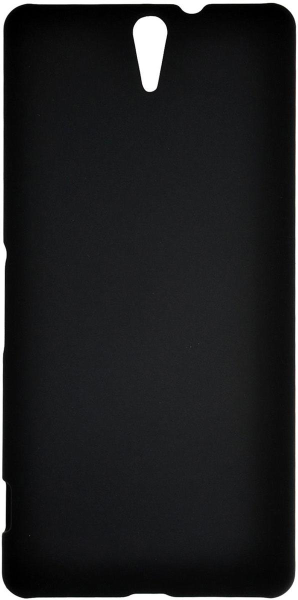 Skinbox 4People чехол для Sony Xperia C5 Ultra, BlackT-S-SXC5U-002Чехол - накладка Skinbox 4People для Sony Xperia C5 Ultra бережно и надежно защитит ваш смартфон от пыли, грязи, царапин и других повреждений. Чехол оставляет свободным доступ ко всем разъемам и кнопкам устройства. В комплект также входит защитная пленка на экран.