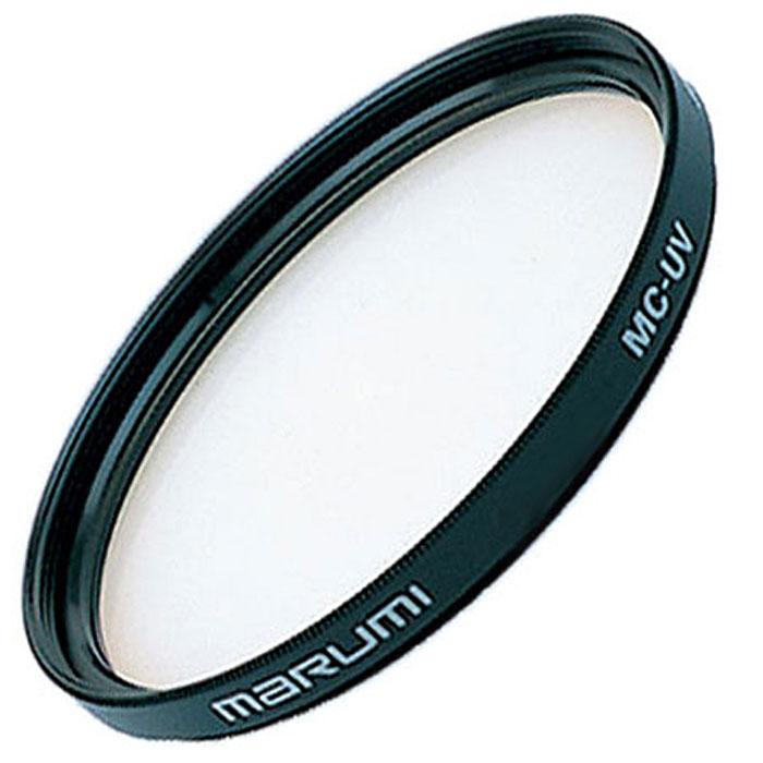 Marumi MC-UV (Haze) защитный светофильтр (58 мм)MC-UV (Haze)Фильтр Marumi MC-UV (Haze). Ультрафиолетовые лучи не видимы невооруженным глазом, но они ухудшают качество ваших фотографий. Эти лучи дают чрезмерное количество синего на цветных снимках и тусклого туманного белого в черно-белых фотографиях. Для ограничения УФ-лучей такой фильтр очень хорош, и особенно эффективен для съемки отдаленных объектов. Он необходим для съемок у моря или в горах, залитых УФ лучами в ясные дни.