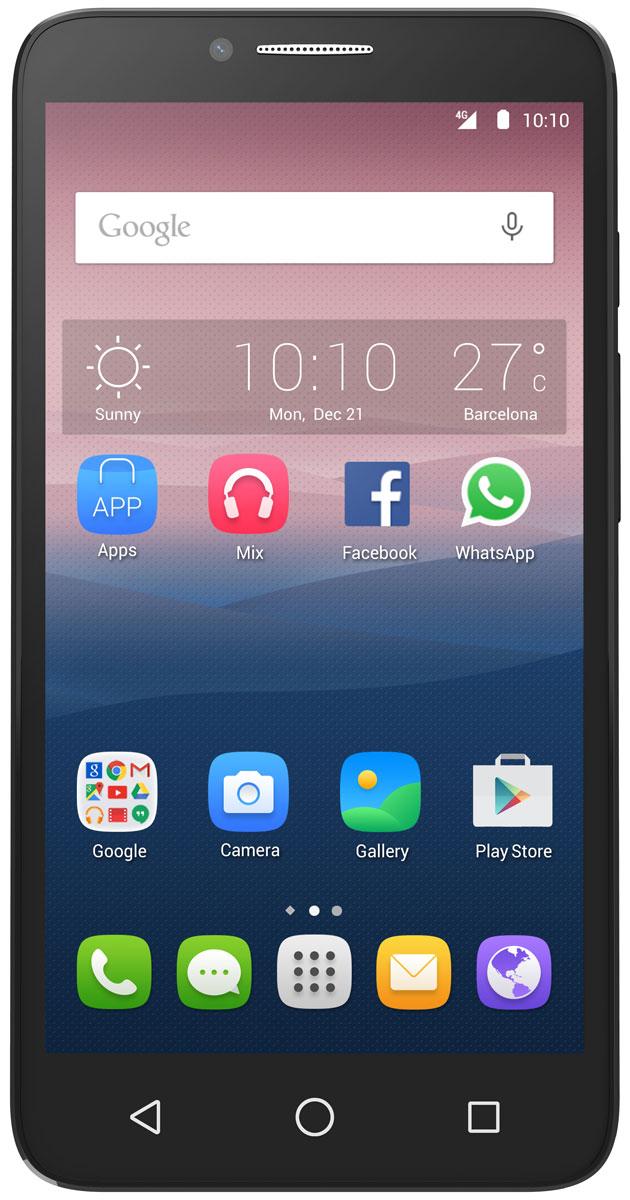 Alcatel OT-5054D Pop 3, Black White5054D-2DALRU1Благодаря тонкому изящному дизайну Alcatel OT-5054D Pop 3 излучает очарование со всех сторон. Вы можете менять заднюю панель смартфона, выбирая из различных цветовых и текстурированных решений. HD IPS экран смартфона Alcatel OT-5054D Pop 3 с диагональю 5,5 дюймов позволит вам наслаждаться кино, играми и другими развлечениями. Четырехъядерный процессор обеспечивает плавную работу сразу нескольких приложений, запущенных одновременно. А благодаря технологии 4G LTE вы сможете быстрее загружать видео и с комфортом просматривать страницы в Интернете. Благодаря 8-мегапиксельной основной камере со множеством фильтров и автофокусом на лице, а также 5-мегапиксельной фронтальной камере вы можете создавать яркие и интересные фотоснимки. Вы можете перенести любимые или часто используемые пункты меню (приложения, ярлыки и виджеты) на главный экран Alcatel OT-5054D Pop 3 для быстрого доступа к ним. Главный экран является расширенным для обеспечения...