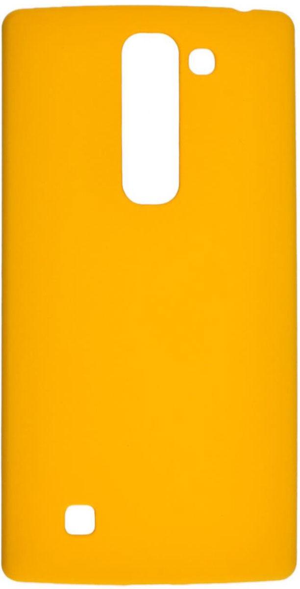 Skinbox 4People чехол для LG G4C, YellowT-S-LG4C-002Чехол-накладка Skinbox 4People для LG G4C бережно и надежно защитит ваш смартфон от пыли, грязи, царапин и других повреждений. Выполнен из высококачественного поликарбоната, плотно прилегает и не скользит в руках. Чехол оставляет свободным доступ ко всем разъемам и кнопкам устройства.