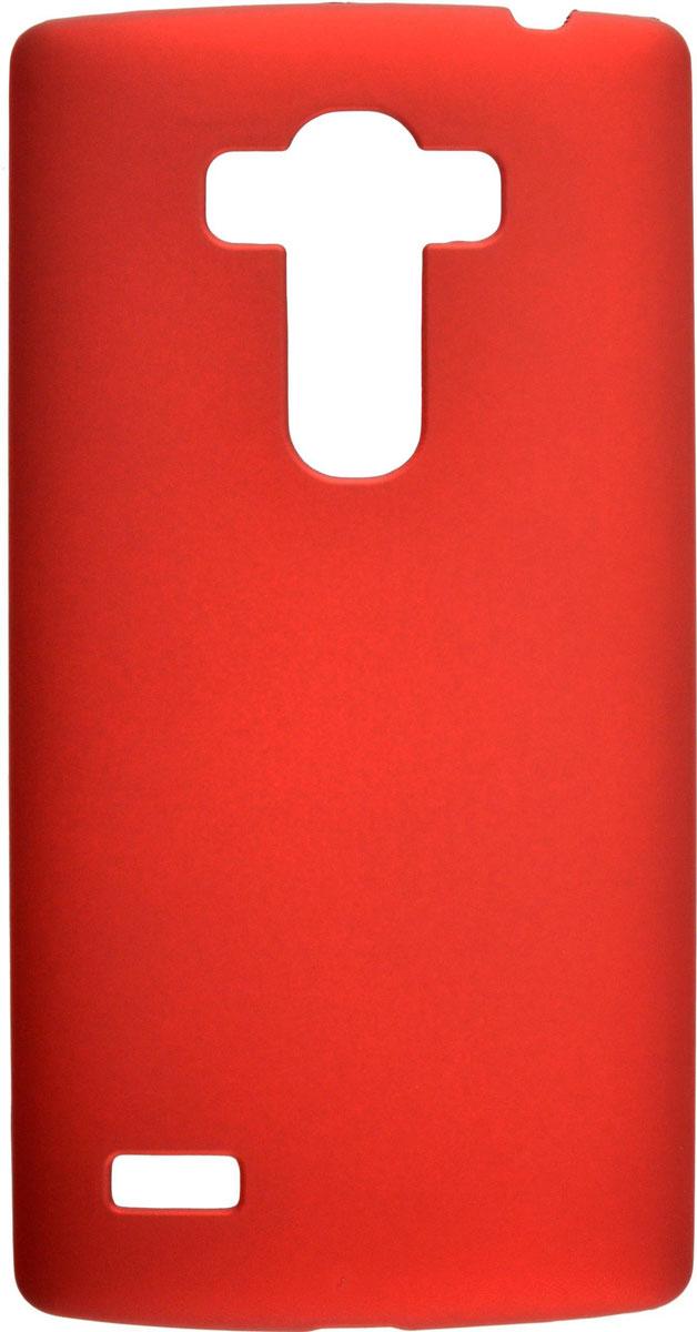 Skinbox 4People чехол для LG G4S, RedT-S-LG4S-002Чехол-накладка Skinbox 4People для LG G4S бережно и надежно защитит ваш смартфон от пыли, грязи, царапин и других повреждений. Выполнен из высококачественного поликарбоната, плотно прилегает и не скользит в руках. Чехол оставляет свободным доступ ко всем разъемам и кнопкам устройства.