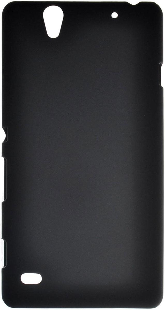 Skinbox 4People чехол для Sony Xperia C4, BlackT-S-SXC4-002Чехол-накладка Skinbox 4People для Sony Xperia C4 бережно и надежно защитит ваш смартфон от пыли, грязи, царапин и других повреждений. Выполнен из высококачественного поликарбоната, плотно прилегает и не скользит в руках. Чехол оставляет свободным доступ ко всем разъемам и кнопкам устройства.