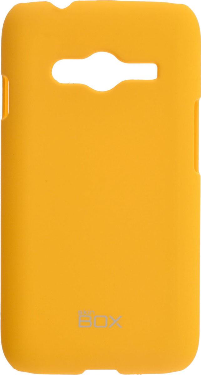 Skinbox 4People чехол для Samsung G313/318 Galaxy Ace 4, YellowT-S-SSMG313H-002Чехол-накладка Skinbox 4People для Samsung G313/318 Galaxy Ace 4 бережно и надежно защитит ваш смартфон от пыли, грязи, царапин и других повреждений. Выполнен из высококачественного поликарбоната, плотно прилегает и не скользит в руках. Чехол оставляет свободным доступ ко всем разъемам и кнопкам устройства.