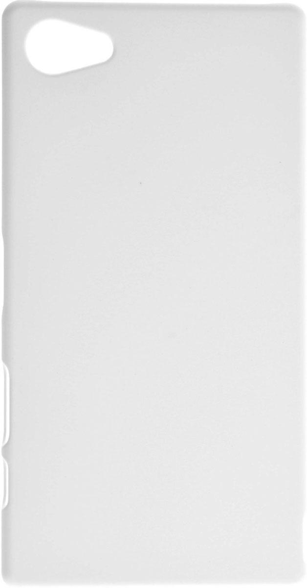 Skinbox 4People чехол для Sony Xperia Z5 Compact, WhiteT-S-SXZ5C-002Чехол-накладка Skinbox 4People для Sony Xperia Z5 Compact бережно и надежно защитит ваш смартфон от пыли, грязи, царапин и других повреждений. Выполнен из высококачественного поликарбоната, плотно прилегает и не скользит в руках. Чехол оставляет свободным доступ ко всем разъемам и кнопкам устройства.