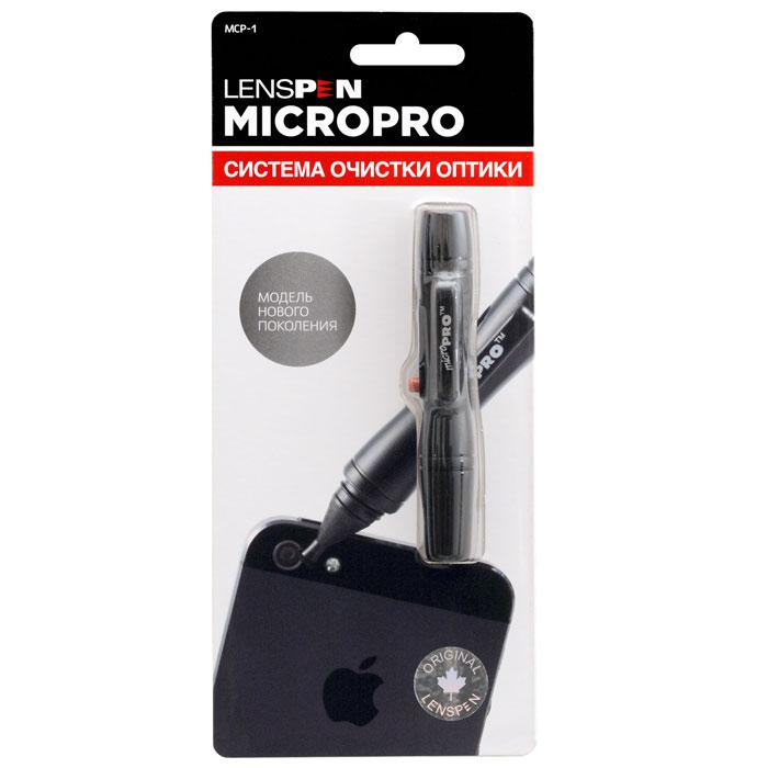 Lenspen MicroPro I MCP-1 чистящий карандашMCP-1Lenspen MicroPro I - самый тонкий чистящий карандаш в линейке. Предназначен для чистки оптики компактных цифровых камер, видеокамер с диаметром объектива от 4 мм. Уникальный чистящий состав с легкостью удаляет отпечатки пальцев, жирные и засохшие пятна.