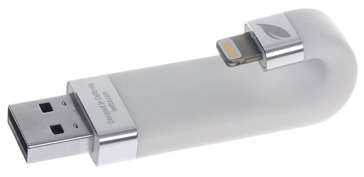 Leef iBridge 256GB, White USB-накопительLIB000WW256R6Leef iBridge создан для расширения памяти на вашем iPhone, iPad, и iPod. Вам больше не придется удалять нужные файлы, освобождая место. Сохраняйте фото и видео прямо на Leef iBridge и никогда не упускайте самые яркие моменты в вашей жизни. Подключите Leef iBridge к своему iPhone или iPad и нажмите iBridge Камера в приложении Leef iBridge App и можете делать снимки. Благодаря Leef iBridge все ваши фильмы и музыка с библиотеки iTunes не займут ни одного мегабайта на вашем мобильном устройстве. В самолете или в машине во время семейной поездки загрузите вашу медиа библиотеку на iBridge и скучать вам больше не придется. Leef iBridge - доступное устройство для расширения памяти на вашем iPhone, iPad, и iPod. С ним вы сможете легко сохранять фотографии, видео и музыку и переносить их между устройствами Apple и ПК.