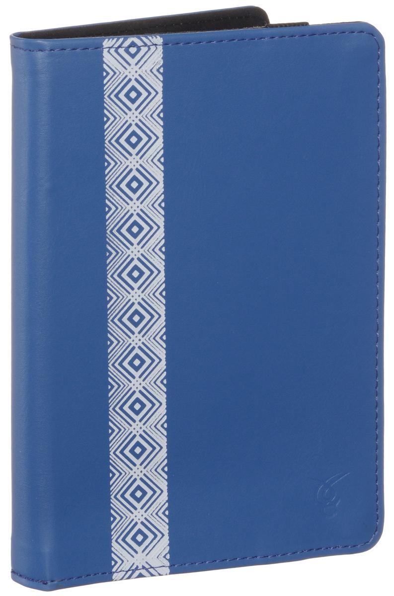 Vivacase Romb чехол для PocketBook 614/622/623/624/626/640, Blue (VPB-P6R02-blue) VPB-P6R02-blue_new