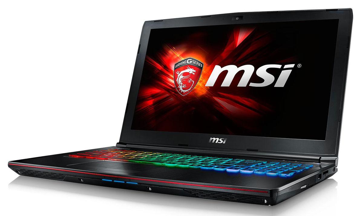 MSI GE62 6QF-018RU Apache Pro, BlackGE62 6QF-018RUMSI GE62 6QF Apache - это мощный ноутбук, который адаптирован для современных игровых приложений. В модели гармонично сочетаются агрессивный дизайн, отличная производительность и продуманная эргономика.Skylake - это кодовое имя новой 14-нм микроархитектуры процессоров Intel последнего, 6-го поколения. По сравнению с предыдущими поколениями платформа Skylake обладает сниженным энергопотреблением при повышенной производительности. Серийный Core i7 6700HQ при средней нагрузке также стал на 20% производительнее i7 4720HQ.Вы сможете достичь максимально возможной производительности вашего ноутбука благодаря поддержке оперативной памяти DDR4-2133, отличающейся скоростью чтения более 2,9 Гбайт/с и скоростью записи 3,5 Гбайт/с. Возросшая на 30% производительность стандарта DDR4-2133 (по сравнению с предыдущим поколением, DDR3-1600) поднимет ваши впечатления от современных и будущих игровых шедевров на совершенно новый уровень.Продвинутая дискретная графика NVIDIA GeForce GTX 970M с GDDR5 3 ГБ:Серия NVIDIA Geforce GTX 970M приносит феноменальную графическую мощность нового поколения в мир игровых ноутбуков. Набравшая более 9,000 баллов в бенчмарке 3DMark 11, GeForce GTX 970M обеспечивает невероятно реалистичную картинку с максимальными настройками и разрешением на лёгком и портативном лаптопе.Система охлаждения с двумя вентиляторами Cooler Boost 3 создана специально для нового поколения сверхмощных CPU и GPU. Этой функцией можно управлять независимо с помощью кнопки запуска в левой части клавиатуры. Чтобы запустить охлаждение, просто нажмите эту кнопку. Высокая эффективность охлаждения позволяет экономить место и снизить уровень шума. Тепло, вырабатываемое ключевыми компонентами, отводится тихо и незаметно для пользователя.Свободно переключайтесь между режимами Sport, Comfort и Green за счёт совершенно новой функции SHIFT, которая, подобно коробке передач автомобиля, даёт вам контроль над состоянием ноутбука, расставляя приори