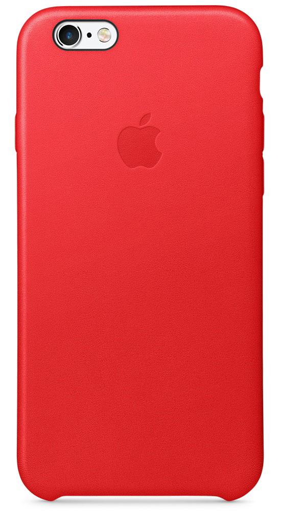 Apple Leather Case чехол для iPhone 6s, RedMKXX2ZM/AApple Leather Case - роскошный чехол, изготовленный из специально обработанной и выделанной кожи европейского производства и спроектированный теми же дизайнерами Apple, которые работали над iPhone. Каждый чехол идеально облегает телефон, поэтому ваш iPhone 6s или iPhone 6 по-прежнему будет выглядеть невероятно тонким. Мягкая внутренняя поверхность чехла, выполненная из микроволокна, защитит корпус вашего iPhone. А его внешняя сторона порадует вас глубоким оттенком: специальная технология окраски позволяет цвету буквально проникать в структуру кожи.