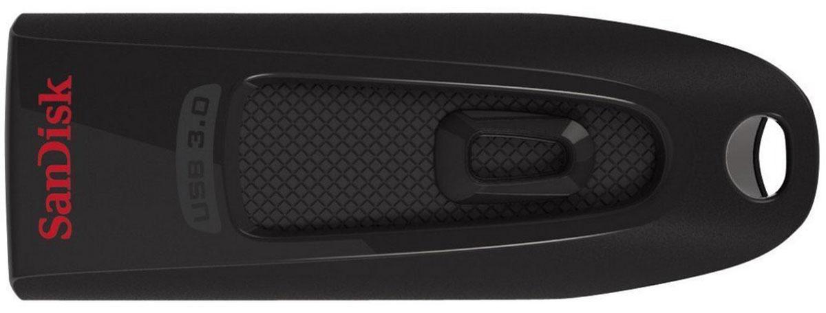 SanDisk Ultra USB 3.0 256GB, Black USB-накопительSDCZ48-256G-U46Флеш-накопитель SanDisk Ultra USB 3.0 в компактном и стильном корпусе отличается высокой скоростью передачи данных и вместе с тем имеет внушительную емкость. С ним файлы переносятся между устройствами в десять раз быстрее, чем при использовании обычных накопителей USB 2.0 . Емкость накопителя позволяет хранить на нем самые объемные мультимедийные файлы и документы.Быстрое перемещение файлов благодаря высокой скорости передачи данныхБлагодаря скорости передачи до 100 МБ/с накопитель SanDisk Ultra USB 3.0 сокращает время, затрачиваемое на перемещение файлов на компьютер. Поддержка USB 3.0 позволяет этому накопителю записывать и перемещать большие файлы на скорости до 10 раз выше накопителей USB 2.0.Накопитель высокой емкости для хранения больших файловБлагодаря внушительной емкости флеш-накопитель SanDisk Ultra USB 3.0 сможет вместить все ваши любимые мультимедийные файлы и важные документы, в том числе фотографии высокого разрешения, MP3-файлы, фильмы, презентации и графические файлы.Стильный компактный дизайнИзящный черный накопитель SanDisk Ultra USB 3.0 настолько же стилен, насколько практичен. Это компактное портативное устройство с легкостью поместится в карман или дамскую сумочку.Программное обеспечение SanDisk SecureAccess защищает ваши личные файлыНакопитель SanDisk Ultra USB 3.0 оснащен программным обеспечением SanDisk SecureAccess, позволяющим создать защищенную паролем личную папку. Ваши файлы получат защиту на основе 128-битного шифрования AES и останутся конфиденциальными, даже когда накопителем пользуется кто-то другой.