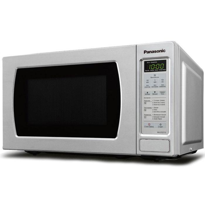 Panasonic NN-ST251WZTE микроволновая печьNN-ST251WZTEPanasonic NN-ST251WZTE - микроволновая печь с сенсорной панелью управления, которая поможет вам сберечь время и получить максимум от замороженных блюд при помощи функции быстрого и бережного размораживания. Когда время поджимает, функции этой микроволной печи окажутся очень кстати. Она позволит вам разогреть или разморозить пищу одним нажатием кнопки. Незачем углубляться в сложные меню и элементы управления - выбор функции микроволновой обработки упрощается благодаря простому элементам управления.Диаметр поворотного стола: 245 ммОткрывание дверцы: кнопкаАвтоматическое приготовлениеЗвуковой сигнал отключенияПодсветка камеры