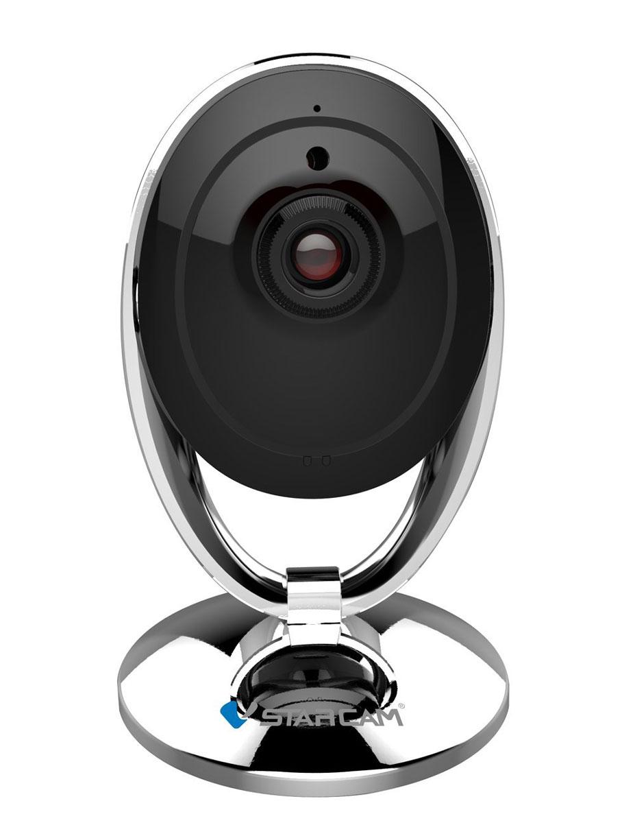 Vstarcam C7893WIP IP камера1600000360068Vstarcam C7893WIP - это новейшая и самая компактная WIFI IP камера из линейки Vstarcam с поддержкой технологии p2p (простая настройка), HD качеством видео (1280х720 пикс), ИК подсветкой до 10 метров, современным дизайном. Vstarcam C7893WIP - это идеальное соотношение низкой стоимости и широкого функционала в миниатюрном исполнении. Vstarcam C7893WIP - это целая компактная видеосистема в едином корпусе, простая и надежная. Благодаря наличию протоколов Onvif и RTSP камера может не только передавать высококачественное видео на ваш планшет, смартфон или ноутбук, но и записывать видео в архив по событию, детекции движения, расписанию. Vstarcam C7893WIP - это идеальное решение для офиса, загородного дома, квартиры. Основные сферы применения камеры - это наблюдение за сотрудниками, за детьми, за производственным процессом. Питание: 5 В