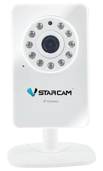 Vstarcam T7892WIP IP камера1600000360181VStarcam T7892WIP - это бюджетная IP-камера с поддержкой WiFi, P2P, HD качеством видео с разрешением 1280 на 720 пикселей, возможностью передачи звука (встроенный микрофон), поддержкой SD карт до 32 ГБ и ИК подсветкой до 10 метров.Камера идеально подходит для решения любых задач внутри помещений. Используйте ее дома или в офисе, для видеоконференций или охранного видеонаблюдения.VStarcam T7892WIP - это простая и надежная видеосистема. Надежное и удобное решение для тех, кто не хочет платить лишнего, но при этом привык получать максимум возможного.Отправка фото по событию на e-mailМаксимальный объем карты памяти: 32 ГБПитание: 5 В