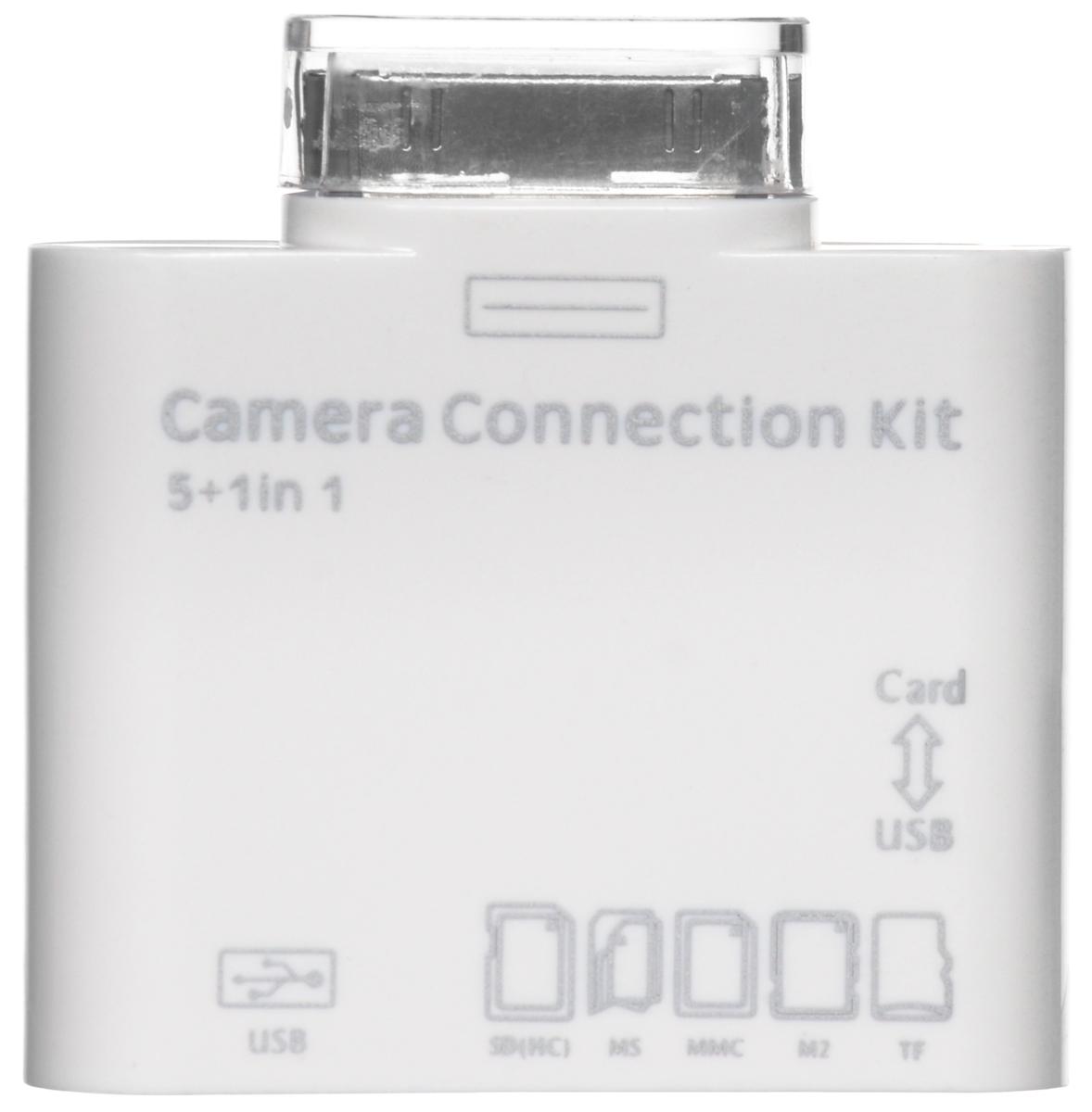 Liberty Project DR02-IPA 5 в 1 картридер для iPad 2/3/iPhoneCD123204Liberty Project DR02-IPA 5 в 1 устройство передачи данных с карт памяти для iPad 2/3/iPhone.