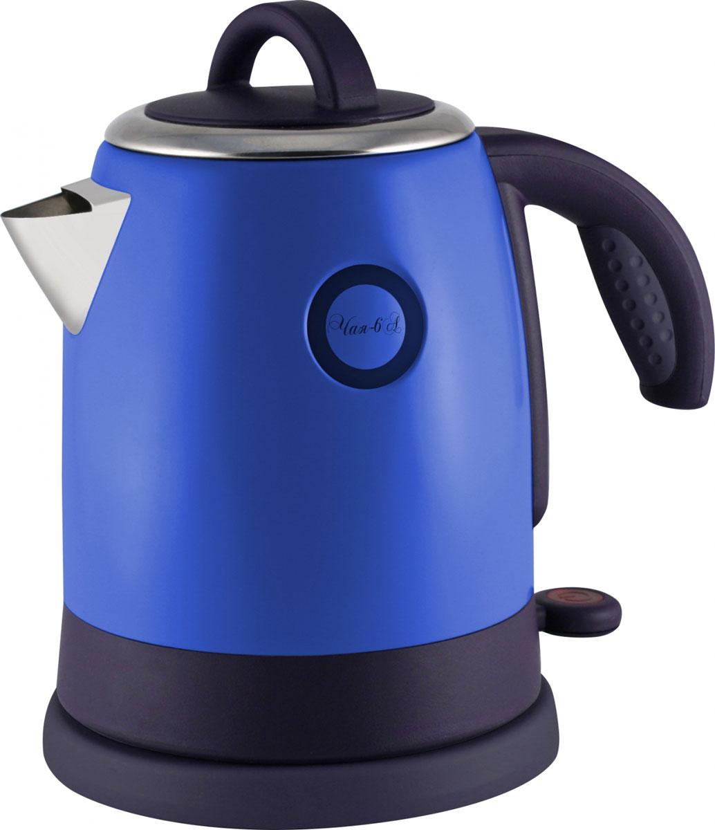 Великие Реки Чая-6А, Blue электрический чайникЧая-6АВеликие Реки Чая-6А - стильный и недорогой электрический чайник в корпусе из нержавеющей стали. Модель снабжена широкой горловиной, съемной крышкой и эргономичной ручкой. Имеется также шкала уровня воды, индикатор работы и возможность вращения чайника на 360 градусов. Безопасность в использовании обеспечивает встроенная защита от перегрева.