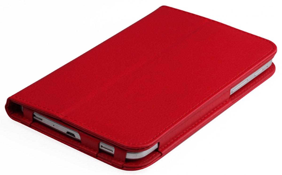 IT Baggage чехол для Lenovo IdeaTab 2 A7-20, RedITLNA722-3Чехол IT Baggage для Lenovo IdeaTab 2 A7-20 - это стильный и лаконичный аксессуар, позволяющий сохранить планшет в идеальном состоянии. Надежно удерживая технику, обложка защищает корпус и дисплей от появления царапин, налипания пыли. Также чехол можно использовать как подставку для чтения или просмотра фильмов. Имеет свободный доступ ко всем разъемам устройства.