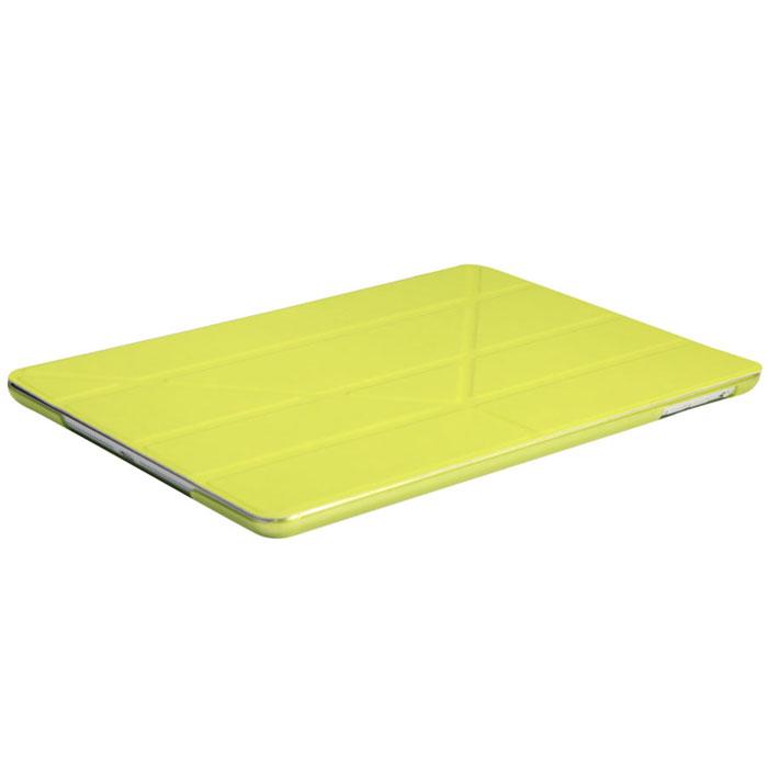 IT Baggage Hard Case чехол для iPad Air 2 9.7, LimeITIPAD25-5Чехол IT Baggage Hard Case для iPad Air 2 9.7 - это стильный и лаконичный аксессуар, позволяющий сохранить планшет в идеальном состоянии. Надежно удерживая технику, обложка защищает корпус и дисплей от появления царапин, налипания пыли. Также чехол можно использовать как подставку для чтения или просмотра фильмов. Имеет прозрачную заднюю крышку и свободный доступ ко всем разъемам устройства.